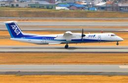 Tomo_ritoguriさんが、伊丹空港で撮影したANAウイングス DHC-8-402Q Dash 8の航空フォト(写真)