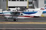 Chofu Spotter Ariaさんが、調布飛行場で撮影した朝日航空 TU206G Turbo Stationair 6の航空フォト(飛行機 写真・画像)