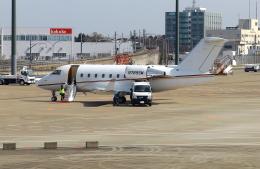 Tomo_ritoguriさんが、成田国際空港で撮影したウェルズ・ファーゴ・バンク・ノースウェスト CL-600-2B16 Challenger 604の航空フォト(写真)