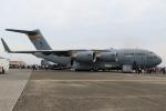 せぷてんばーさんが、横田基地で撮影したアメリカ空軍 C-17A Globemaster IIIの航空フォト(写真)