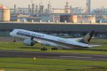 kkba380さんが、羽田空港で撮影したシンガポール航空 A350-941XWBの航空フォト(写真)