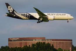 にっしーさんが、成田国際空港で撮影したニュージーランド航空 787-9の航空フォト(写真)