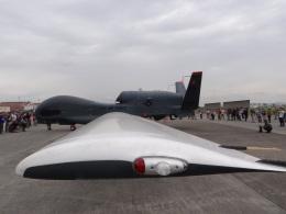 changさんが、横田基地で撮影したアメリカ空軍 RQ-4 Global Hawkの航空フォト(写真)
