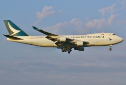 あしゅーさんが、成田国際空港で撮影したキャセイパシフィック航空 747-467F/ER/SCDの航空フォト(写真)