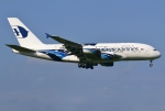 あしゅーさんが、成田国際空港で撮影したマレーシア航空 A380-841の航空フォト(飛行機 写真・画像)