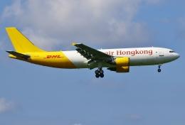 あしゅーさんが、成田国際空港で撮影したエアー・ホンコン A300F4-605Rの航空フォト(写真)