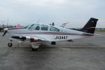(`・ω・´)さんが、横田基地で撮影した日本個人所有 E33 Bonanzaの航空フォト(写真)