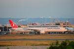 アップルゆこさんが、台湾桃園国際空港で撮影したターキッシュ・エアラインズ 777-3F2/ERの航空フォト(写真)