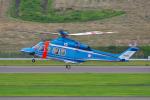 PASSENGERさんが、福島空港で撮影した福島県警察 AW139の航空フォト(写真)