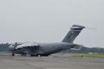 りゅうさんさんが、横田基地で撮影したアメリカ空軍 C-17A Globemaster IIIの航空フォト(写真)