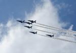じーく。さんが、横田基地で撮影した航空自衛隊 T-4の航空フォト(飛行機 写真・画像)