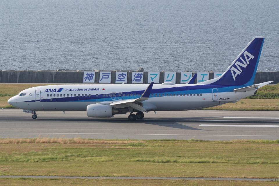 HEATHROWさんの全日空 Boeing 737-800 (JA56AN) 航空フォト