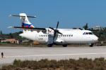 TRAVAIRさんが、スキアトス空港で撮影したスカイエクスプレス ATR-42-320の航空フォト(写真)