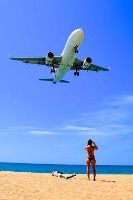 まいけるさんが、プーケット国際空港で撮影したタイ・スマイル A320-232の航空フォト(写真)
