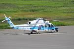 セブンさんが、札幌飛行場で撮影した海上保安庁 S-76Dの航空フォト(飛行機 写真・画像)