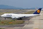 セブンさんが、関西国際空港で撮影したルフトハンザドイツ航空 747-430の航空フォト(写真)