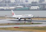 ふじいあきらさんが、羽田空港で撮影した日本航空 767-346/ERの航空フォト(写真)