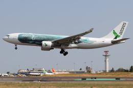 つみネコ♯2さんが、リスボン・ウンベルト・デルガード空港で撮影したアゾレス・エアラインズ A330-223の航空フォト(飛行機 写真・画像)
