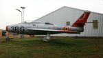 C.Hiranoさんが、ベーフェルロ空軍基地で撮影したベルギー空軍 F-84F Thunderstreakの航空フォト(写真)