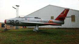cathay451さんが、ベーフェルロ空軍基地で撮影したベルギー空軍 F-84F Thunderstreakの航空フォト(飛行機 写真・画像)