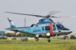 camelliaさんが、静浜飛行場で撮影した静岡県警察 A109E Powerの航空フォト(写真)