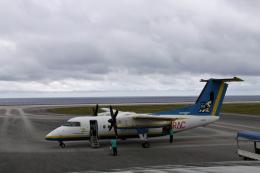 ss5さんが、南大東空港で撮影した琉球エアーコミューター DHC-8-103Q Dash 8の航空フォト(飛行機 写真・画像)