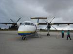 ss5さんが、南大東空港で撮影した琉球エアーコミューター DHC-8-103Q Dash 8の航空フォト(写真)