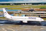 菊池 正人さんが、フランクフルト国際空港で撮影したサンエクスプレス 737-86Nの航空フォト(写真)