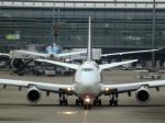 ss5さんが、羽田空港で撮影したルフトハンザドイツ航空 747-830の航空フォト(写真)