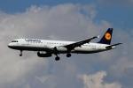 twining07さんが、ロンドン・ヒースロー空港で撮影したルフトハンザドイツ航空 A321-131の航空フォト(写真)