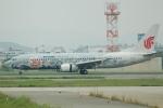 yanaさんが、福岡空港で撮影した中国国際航空 737-86Nの航空フォト(写真)