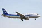 小牛田薫さんが、成田国際空港で撮影した全日空 A320-214の航空フォト(写真)