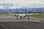 simokさんが、伊丹空港で撮影したANAウイングス DHC-8-402Q Dash 8の航空フォト(写真)