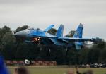 AkiChup0nさんが、フェアフォード空軍基地で撮影したウクライナ空軍 Su-27Pの航空フォト(写真)
