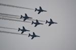 hirokongさんが、八王子市上空で撮影した航空自衛隊 T-4の航空フォト(飛行機 写真・画像)