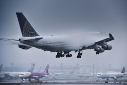 パンダさんが、成田国際空港で撮影したユナイテッド航空 747-451の航空フォト(飛行機 写真・画像)