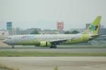 yanaさんが、福岡空港で撮影したジンエアー 737-86Nの航空フォト(写真)