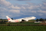 モモさんが、女満別空港で撮影した日本航空 767-346/ERの航空フォト(写真)
