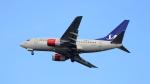 誘喜さんが、フランクフルト国際空港で撮影したスカンジナビア航空 737-683の航空フォト(写真)