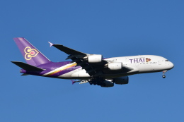 Timothyさんが、成田国際空港で撮影したタイ国際航空 A380-841の航空フォト(写真)