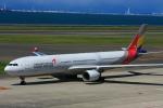 きったんさんが、中部国際空港で撮影したアシアナ航空 A330-323Xの航空フォト(写真)