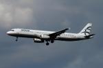 twining07さんが、ロンドン・ヒースロー空港で撮影したエーゲ航空 A321-231の航空フォト(写真)
