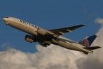 木人さんが、成田国際空港で撮影したユナイテッド航空 777-224/ERの航空フォト(写真)