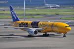 とっちさんが、羽田空港で撮影した全日空 777-281/ERの航空フォト(写真)