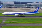 PASSENGERさんが、羽田空港で撮影した全日空 777-381の航空フォト(写真)
