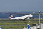 とっちさんが、羽田空港で撮影したルフトハンザドイツ航空 747-830の航空フォト(写真)