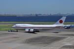 とっちさんが、羽田空港で撮影した航空自衛隊 747-47Cの航空フォト(写真)