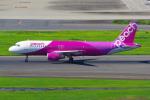 羽田空港 - Tokyo International Airport [HND/RJTT]で撮影されたピーチ - Peach [MM/APJ]の航空機写真