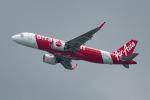 ぎんじろーさんが、香港国際空港で撮影したエアアジア A320-251Nの航空フォト(写真)