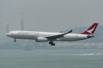 ぎんじろーさんが、香港国際空港で撮影したキャセイドラゴン A330-343Xの航空フォト(写真)